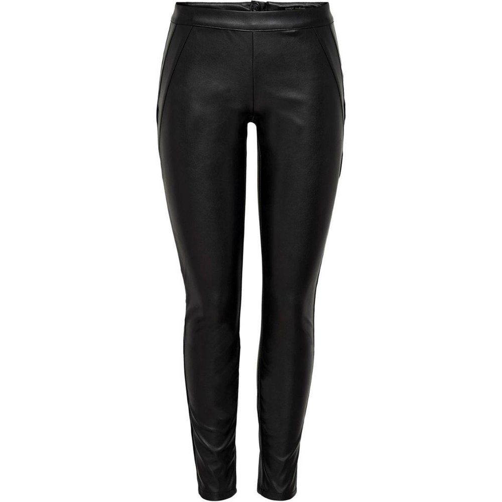Pantalon slim enduit - Only - Modalova