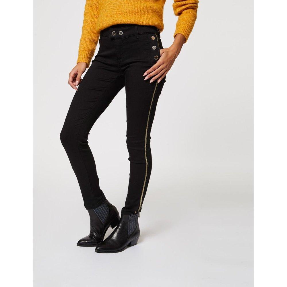 Pantalon skinny taille basse à pont - Morgan - Modalova