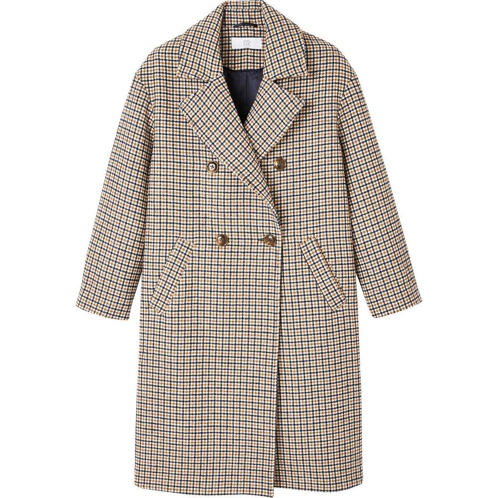 Manteau à carreaux - LA REDOUTE COLLECTIONS - Modalova