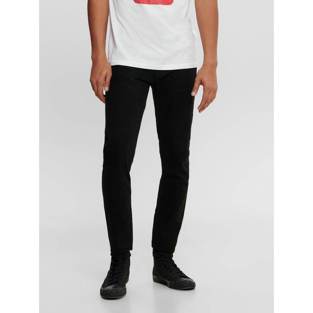 Jean skinny ONSWarp black - ONLY ET SONS - Modalova