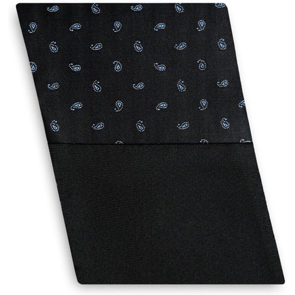 Pochette de costume en pure soie bicolore / cachemire - BRUCE FIELD - Modalova