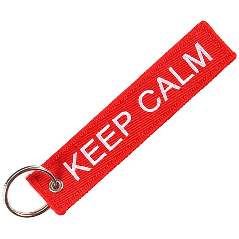 Porte clé keep calm - CLJ CHARLES LEJEUNE - Modalova