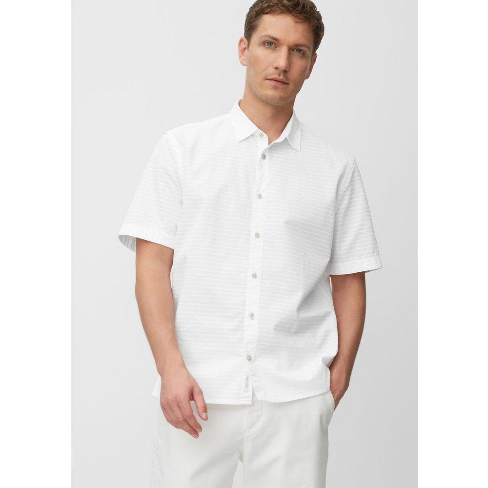 Chemise à manches courtes en pur coton - Marc O'Polo - Modalova