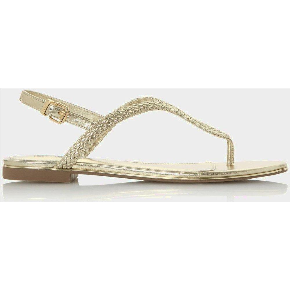 Sandales à brides tressées - LONGLEY - DUNE LONDON - Modalova