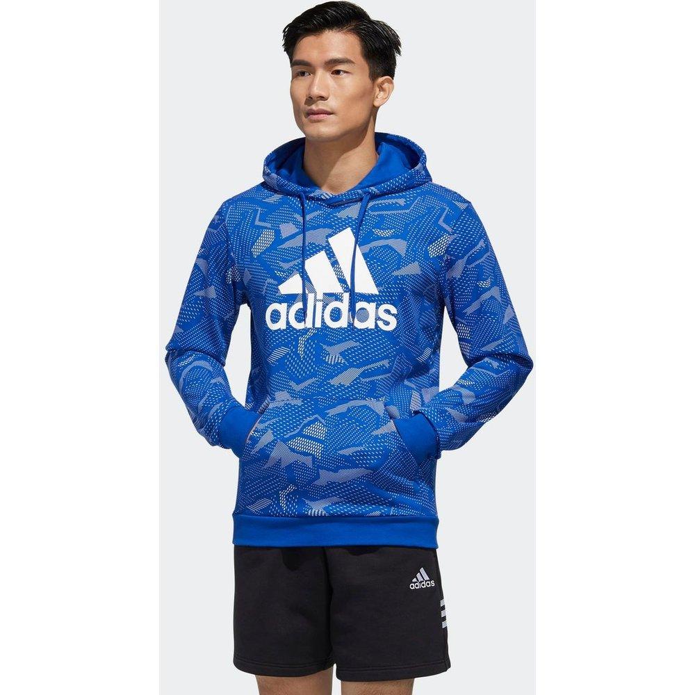 Sweat-shirt à capuche Essentials Allover Print - adidas performance - Modalova