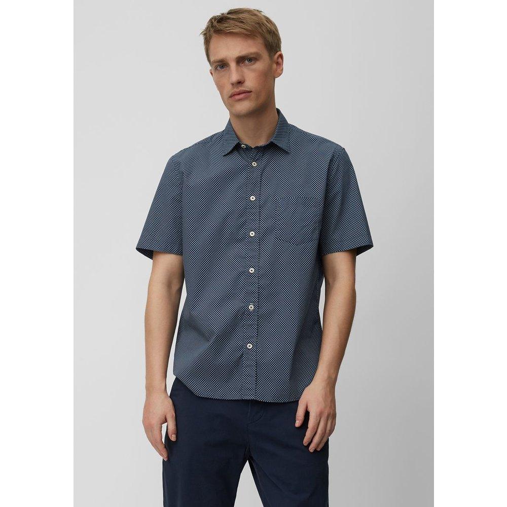 Chemise à manches courtes regular À mini-imprimé all-over - Marc O'Polo - Modalova