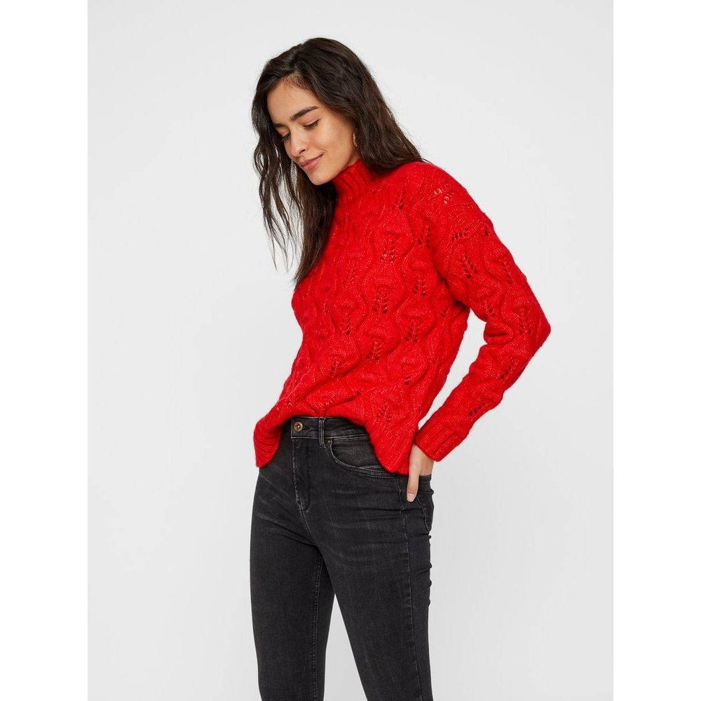 Pull Grosse maille col montant - Pieces - Modalova