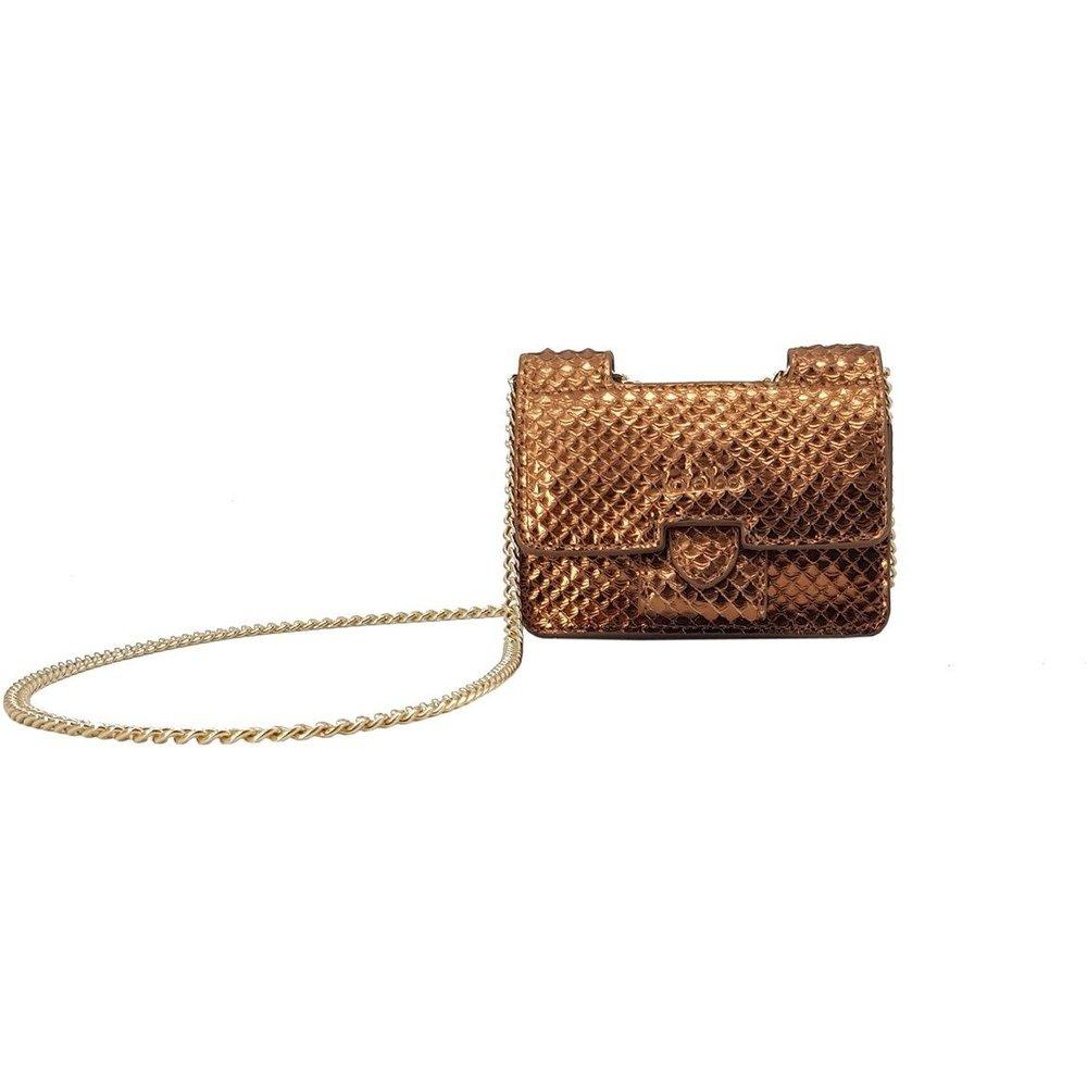 Mini sac en cuir avec chaîne MINI OPHELIA - KATE LEE - Modalova