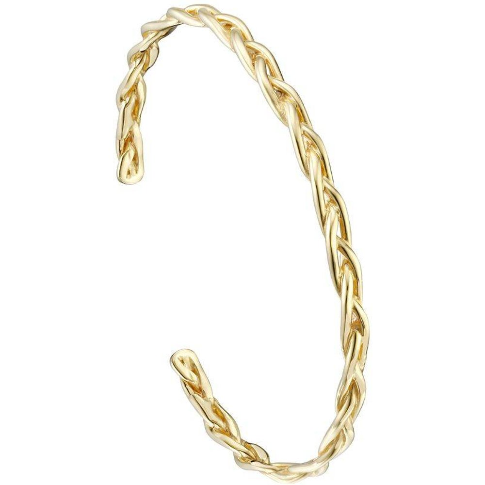 Bracelet jonc tressé en argent 925, 6.83g, Ø60mm - Canyon - Modalova