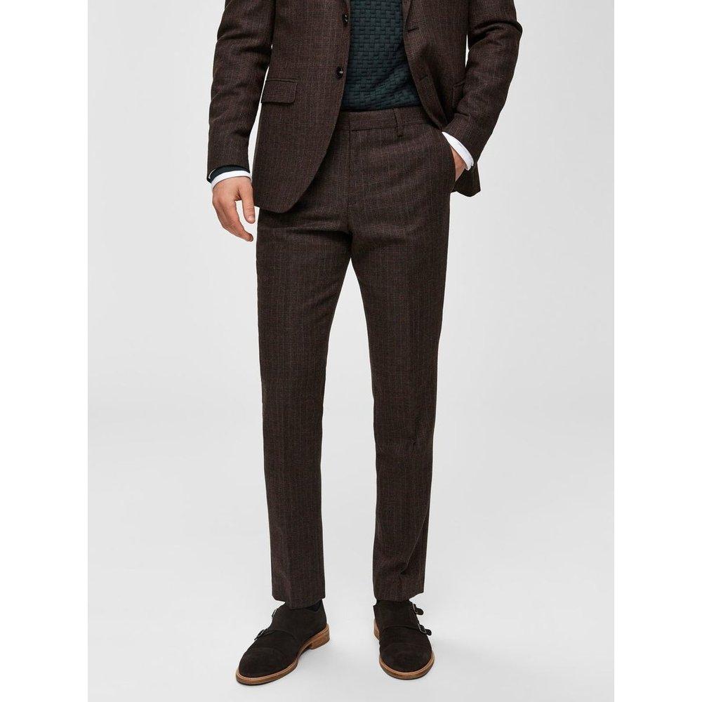 Pantalon de costume Carreaux  - Selected Homme - Modalova