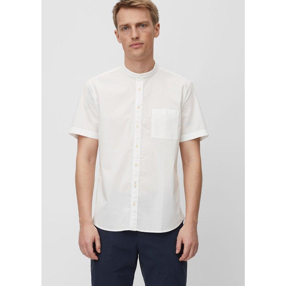 Chemise à manches courtes de coupe shaped En coton biologique - Marc O'Polo - Modalova