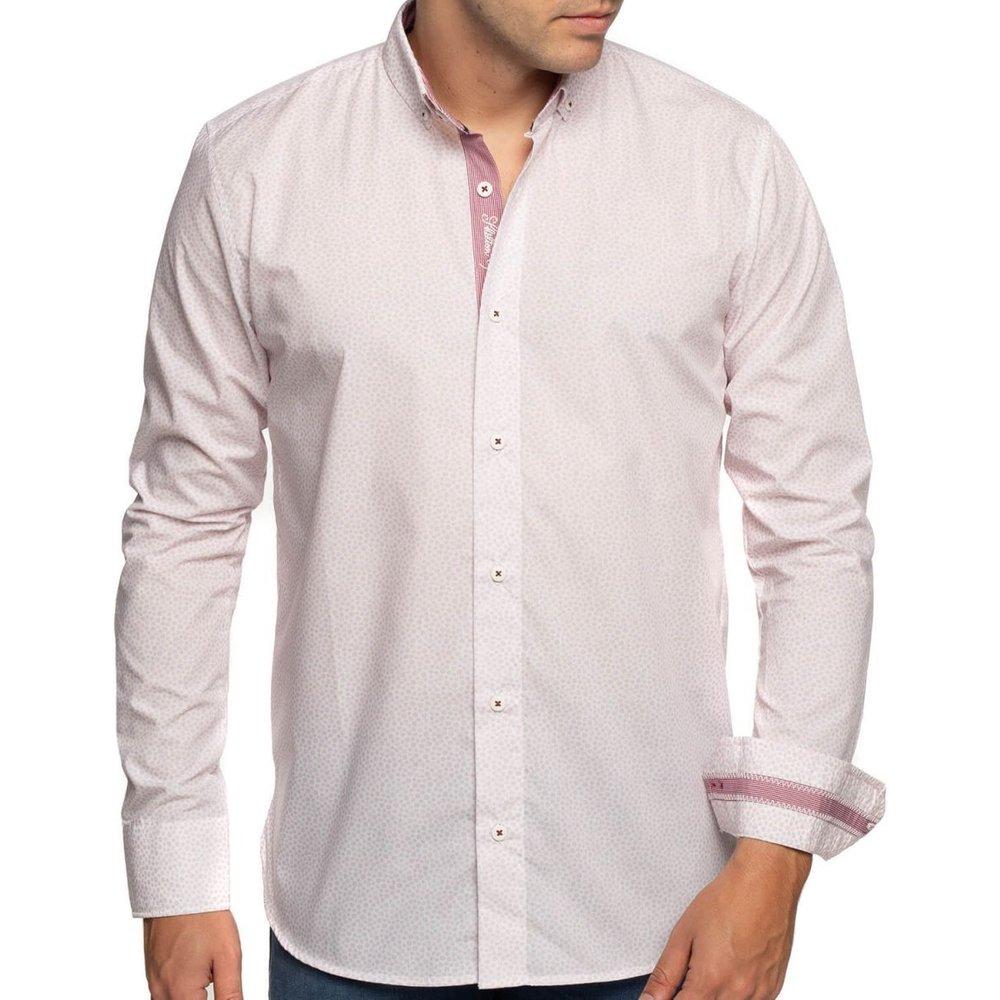 Chemise à pois manches longues - SHILTON - Modalova