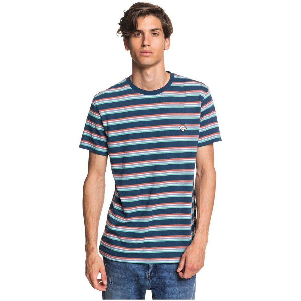 T-shirt manches courtes, brodé - Quiksilver - Modalova