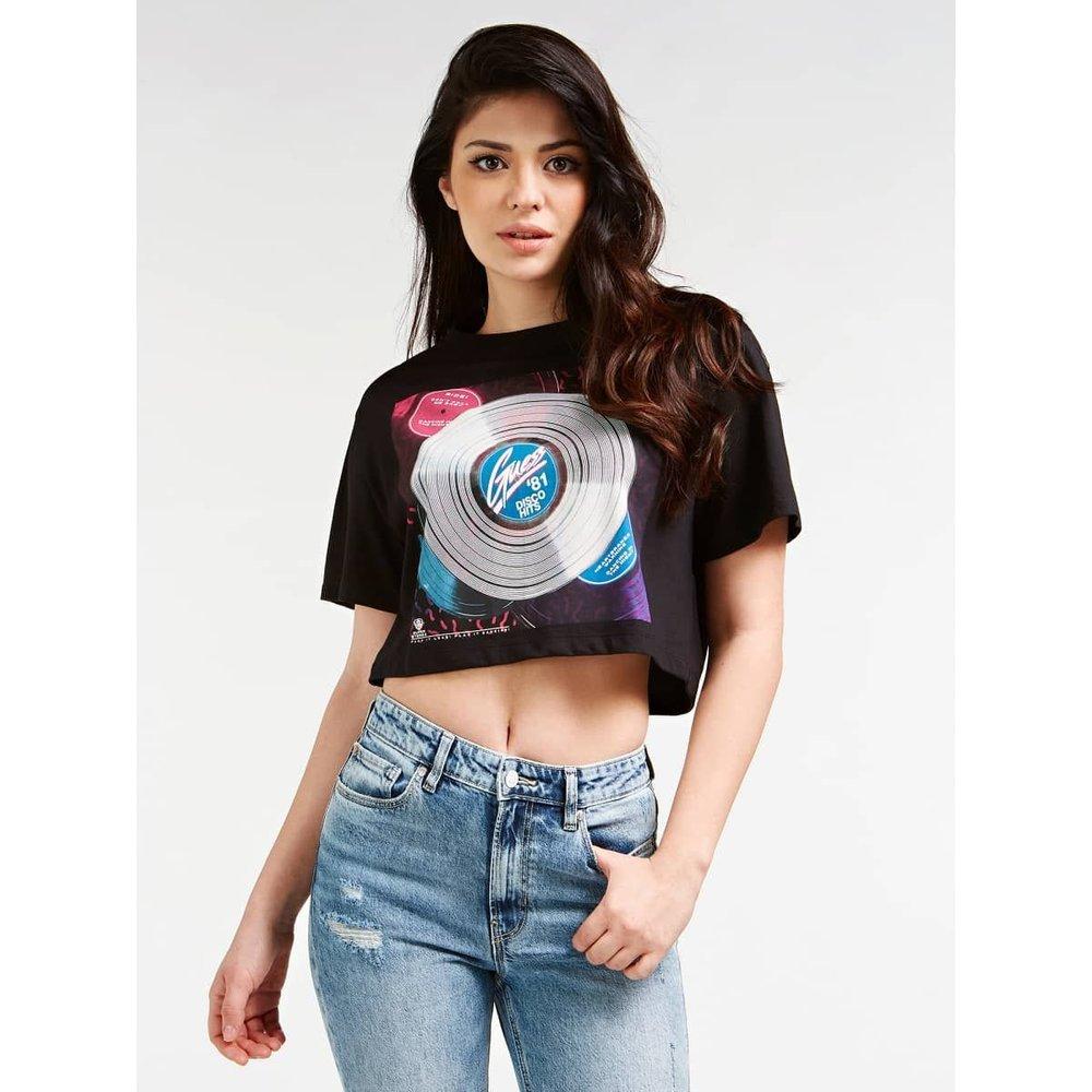 T-Shirt Phosphorescent - Guess - Modalova