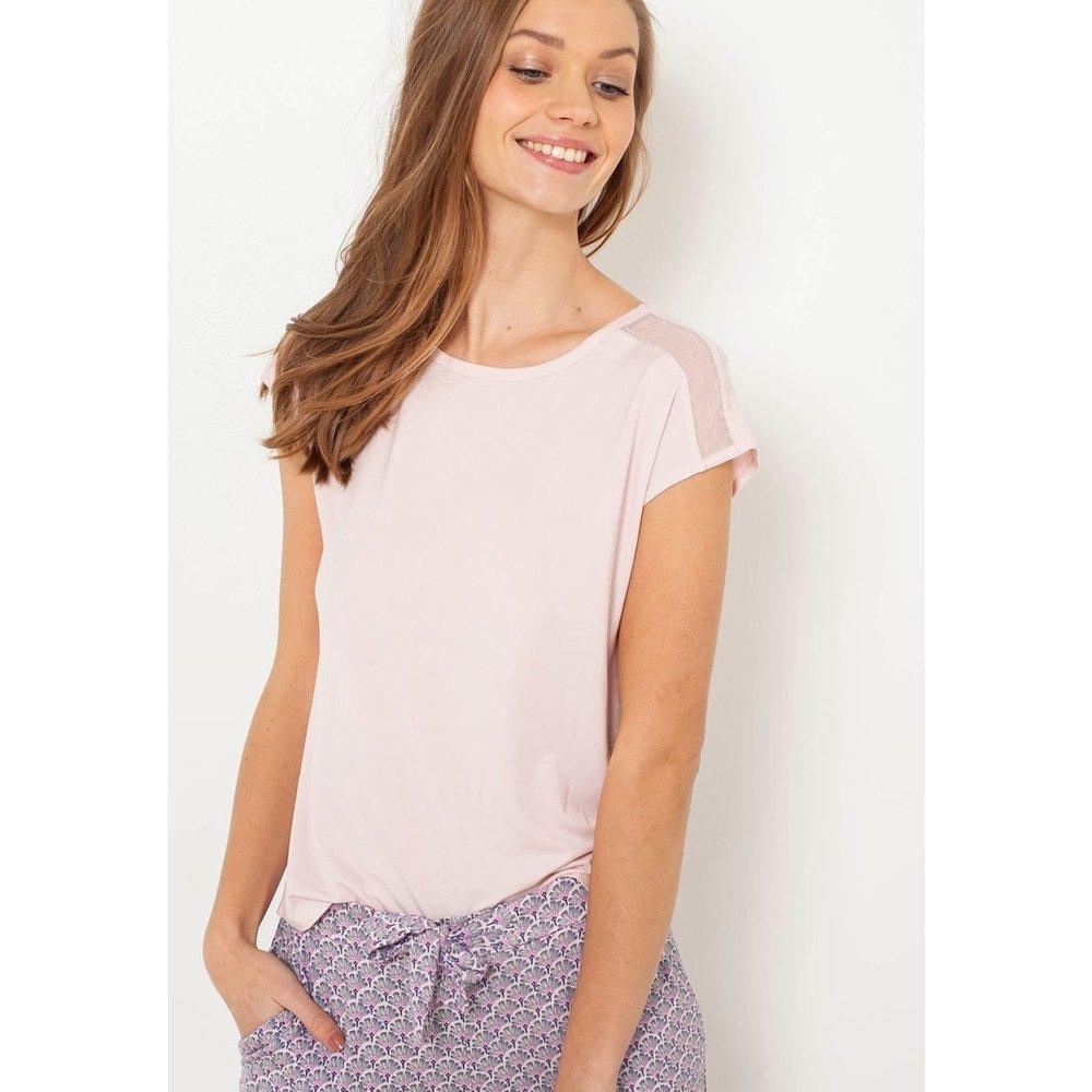 Haut de pyjama plumetis - CAMAIEU - Modalova