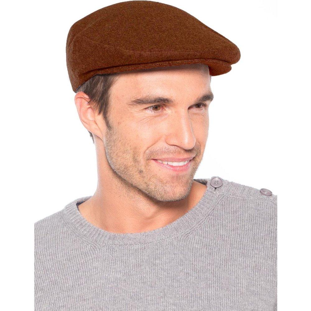 Casquette en drap 80% laine, 20% cachemire - HONCELAC - Modalova