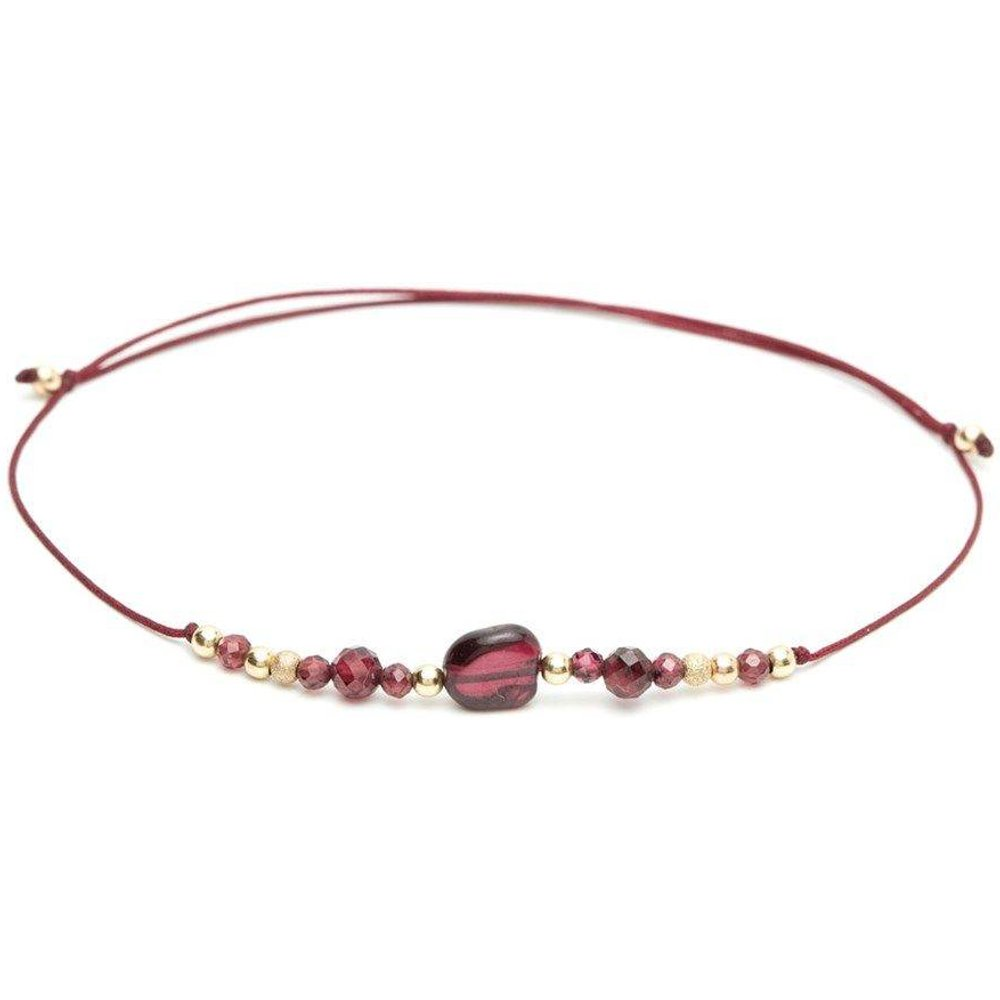 Bracelet cordon Gold filled Cosmic - YAY- YOU ARE YOUNG - Modalova