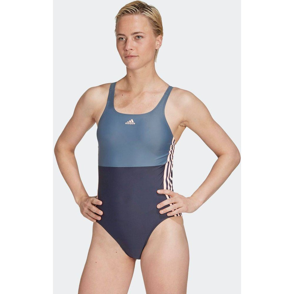 Maillot de bain adidas SH3.RO 3-Stripes Colorblock - adidas performance - Modalova