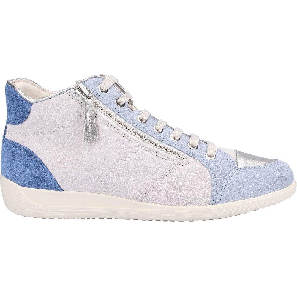 Sneaker Suède - Geox - Modalova