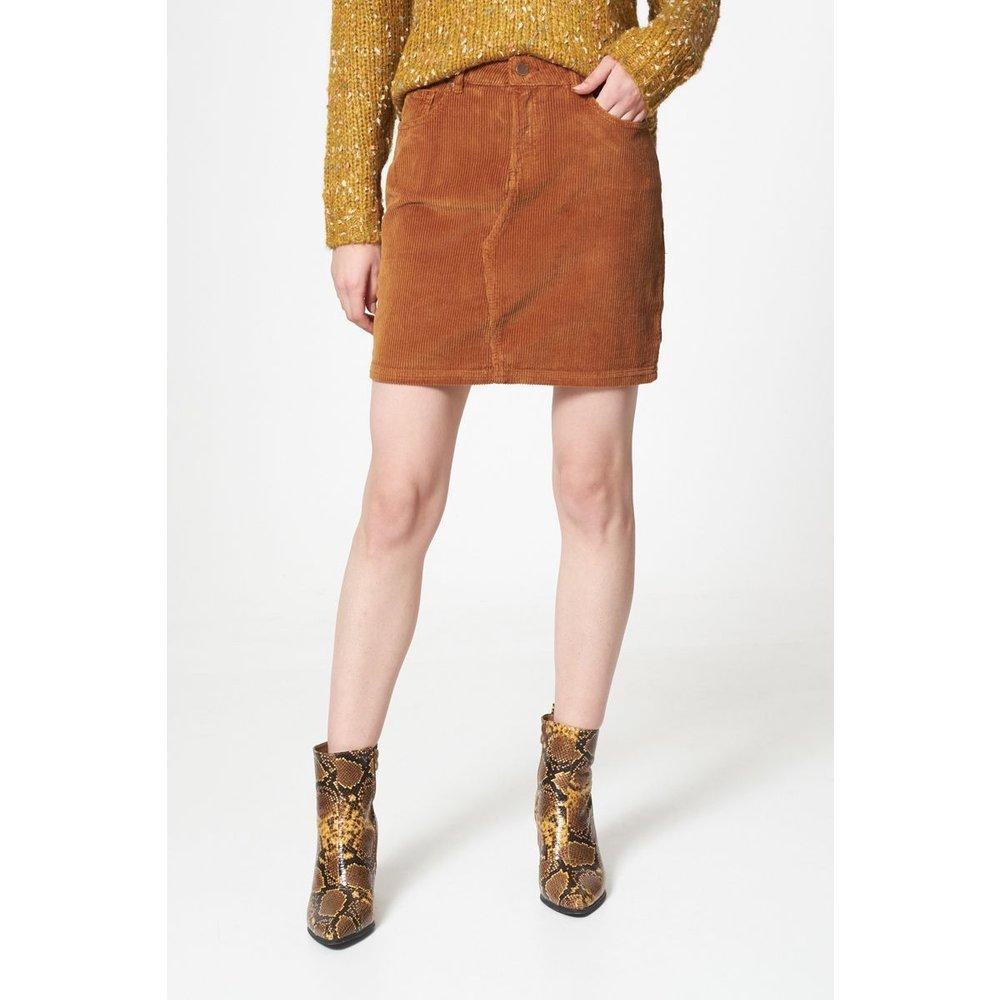 Mini-jupe en velours - BEST MOUNTAIN - Modalova