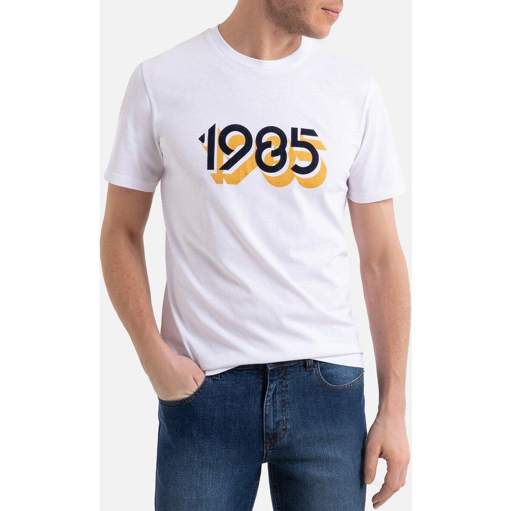 T-shirt col rond imprimé devant manches courtes - LA REDOUTE COLLECTIONS - Modalova