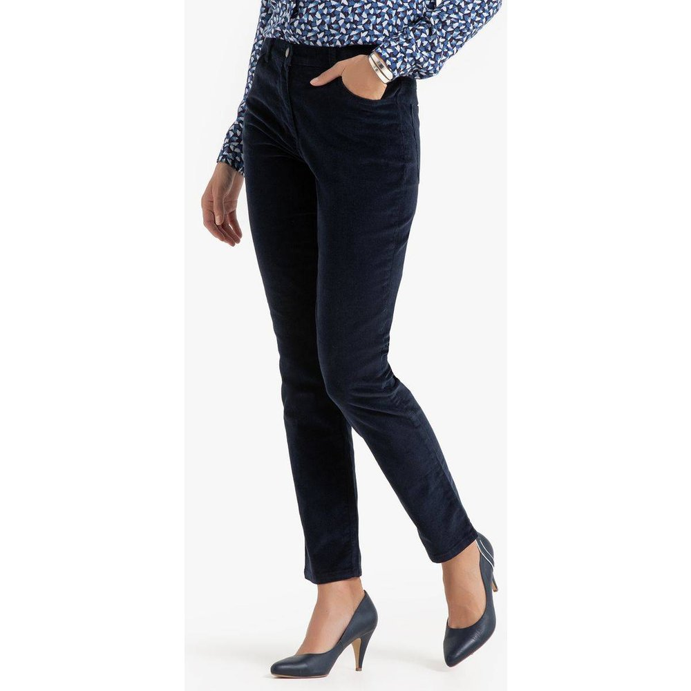 Pantalon velours stretch - Anne weyburn - Modalova