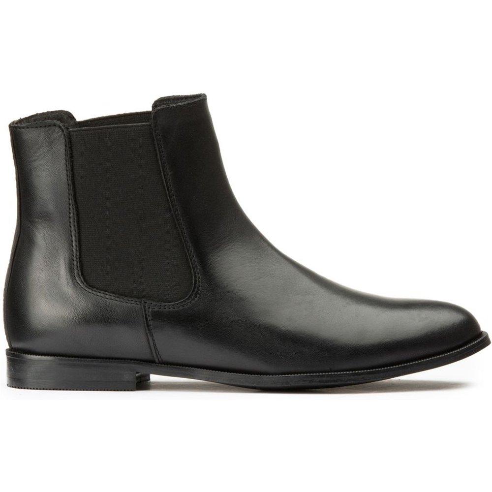 Boots chelsea en cuir - LA REDOUTE COLLECTIONS - Modalova