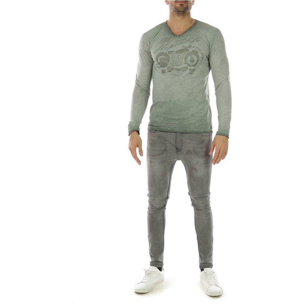 T-shirt manche longue col V GABABU - HopenLife - Modalova