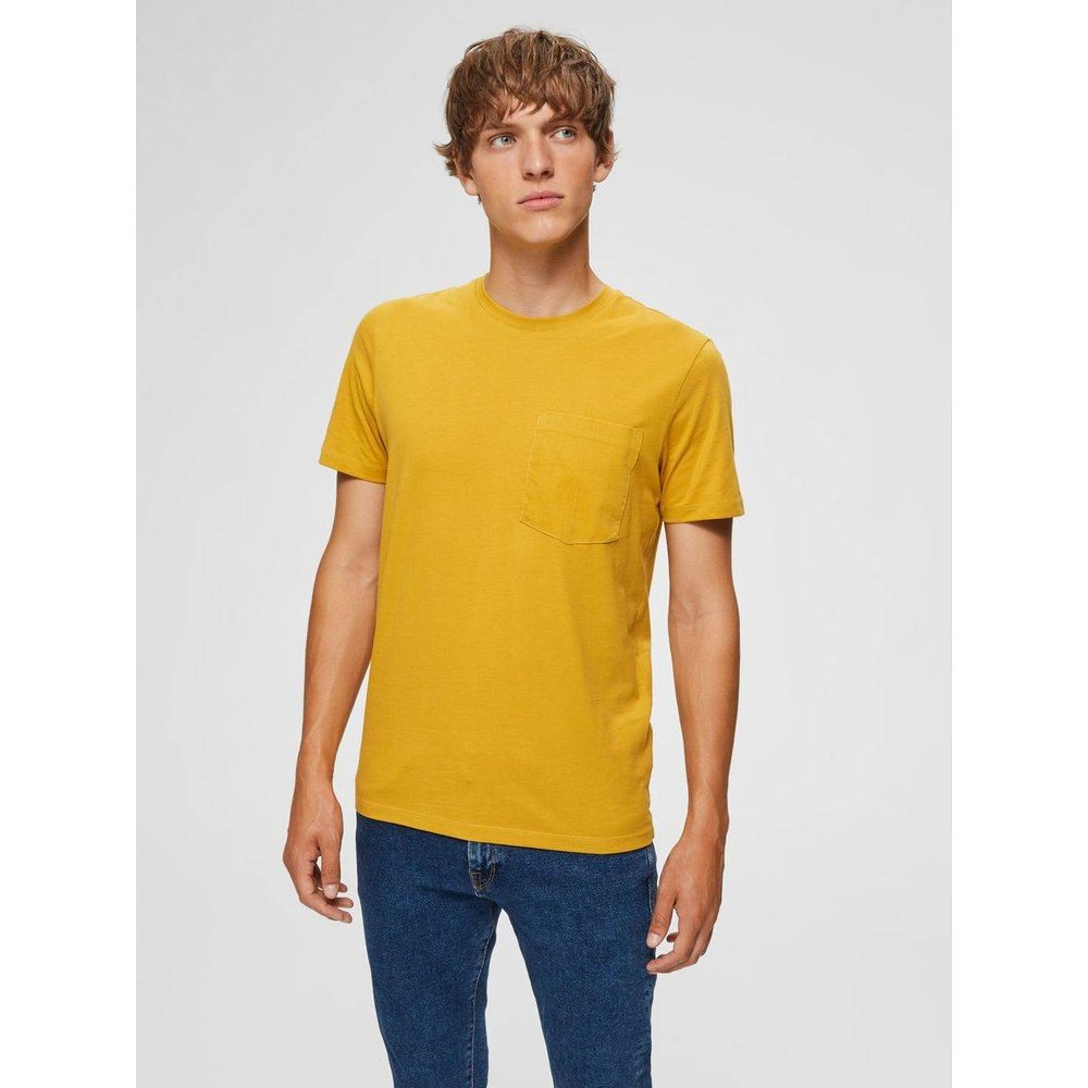 T-Shirt Col rond  - Selected Homme - Modalova