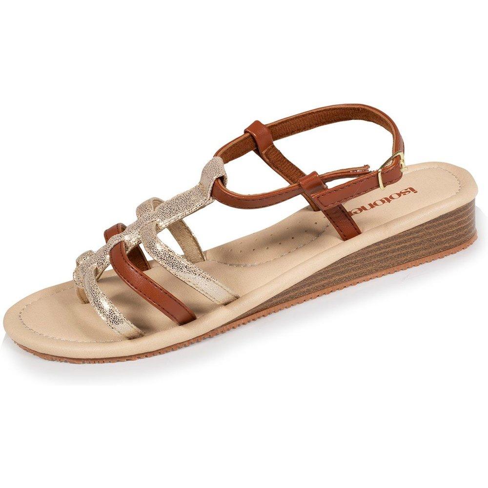 Sandales femme multi-brides - Isotoner - Modalova