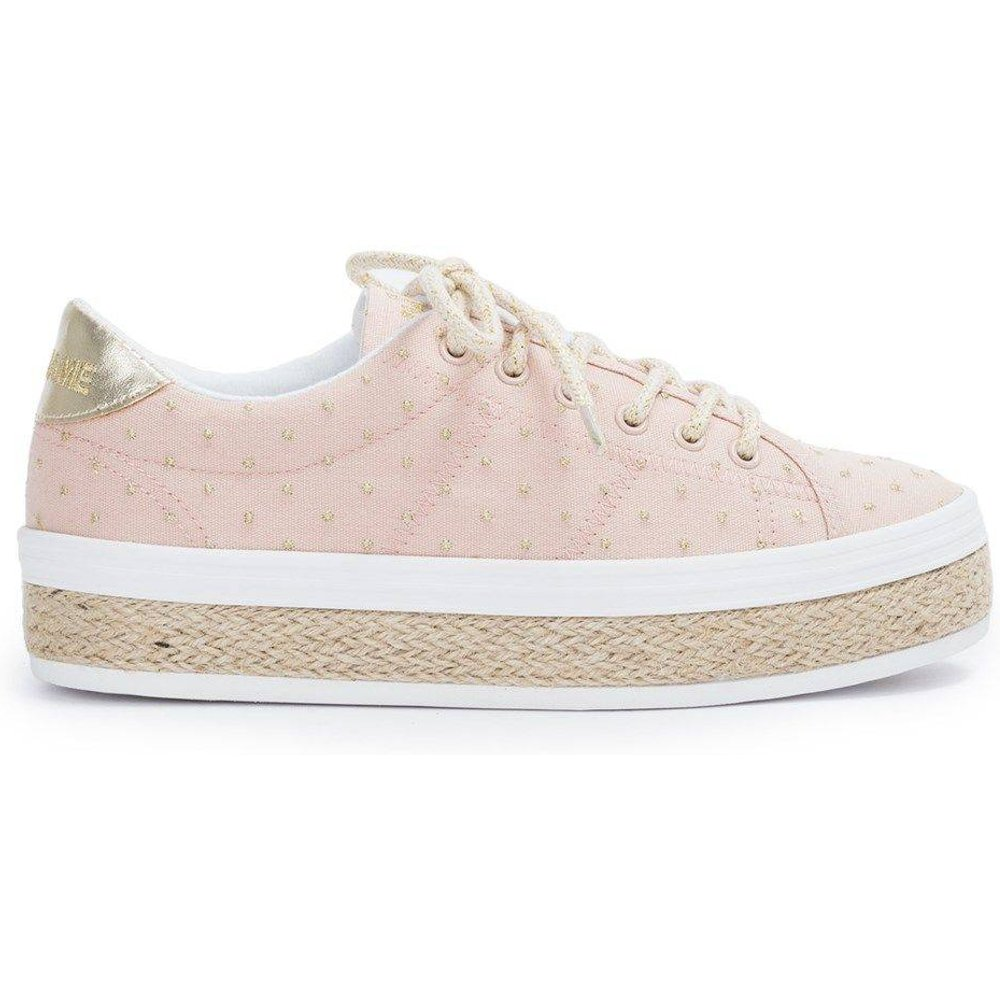 Baskets à lacets MALIBU SNEAKER - CANVAS DOTS - NO NAME - Modalova