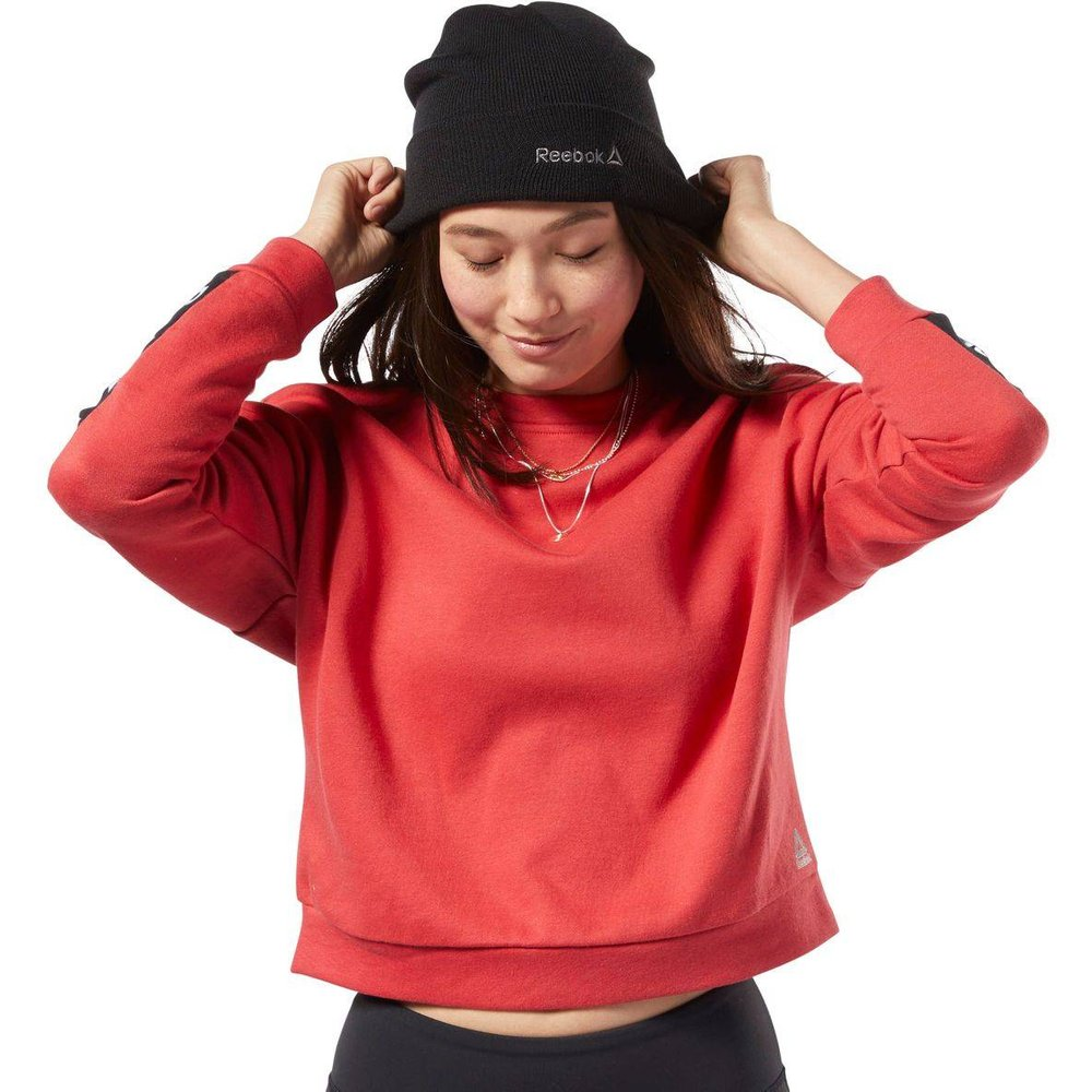 Sweat à col rond avec logo linéaire Training Essentials - REEBOK SPORT - Modalova