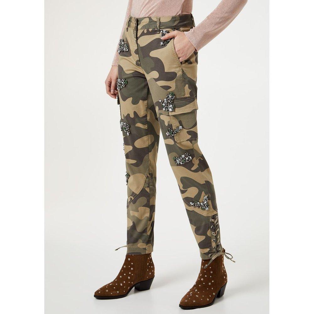 Pantalon cargo avec pierres - LIU JO - Modalova