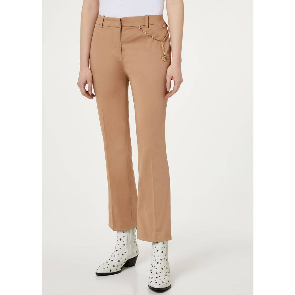 Pantalon chino cropped - LIU JO - Modalova