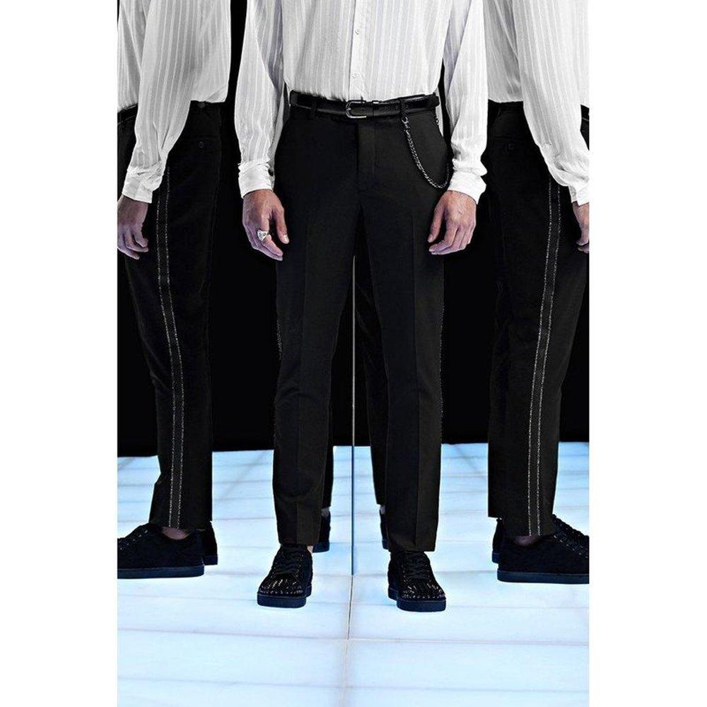 Pantalon slim - BOOHOOMAN - Modalova