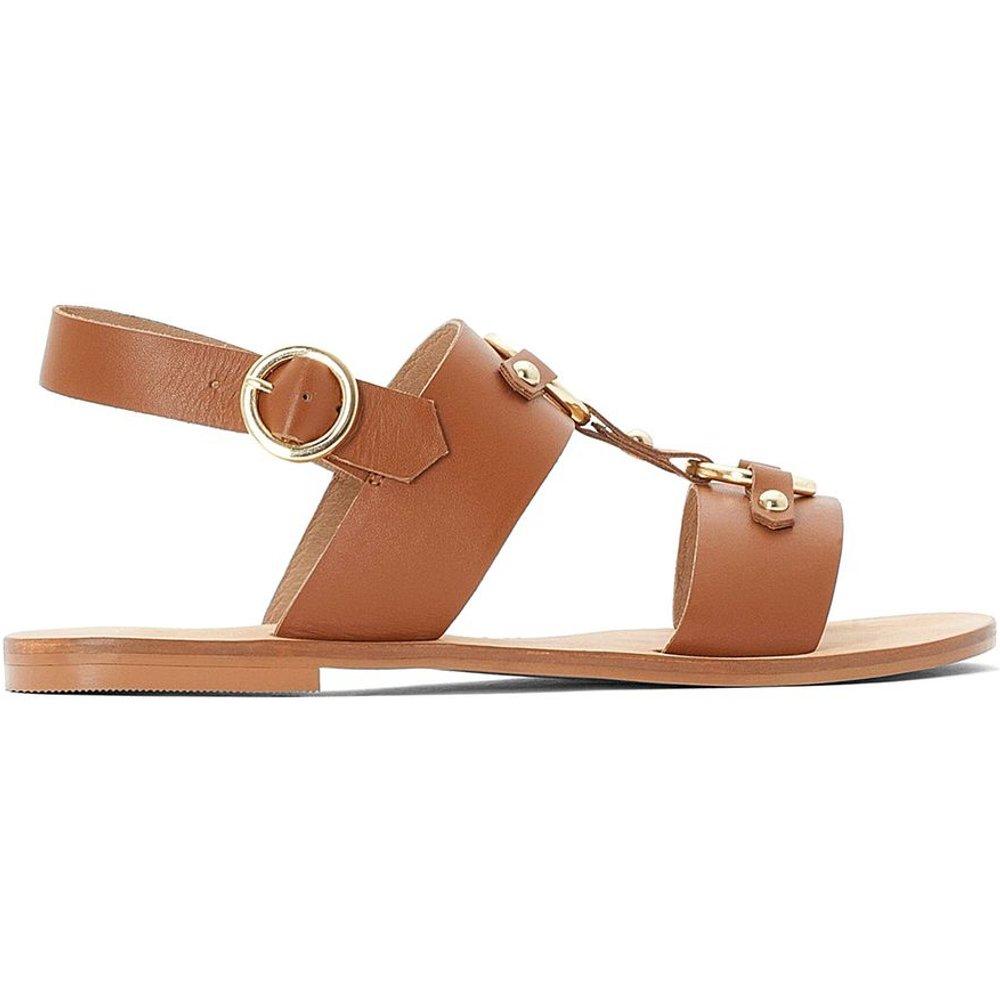 Sandales en cuir - LA REDOUTE COLLECTIONS - Modalova