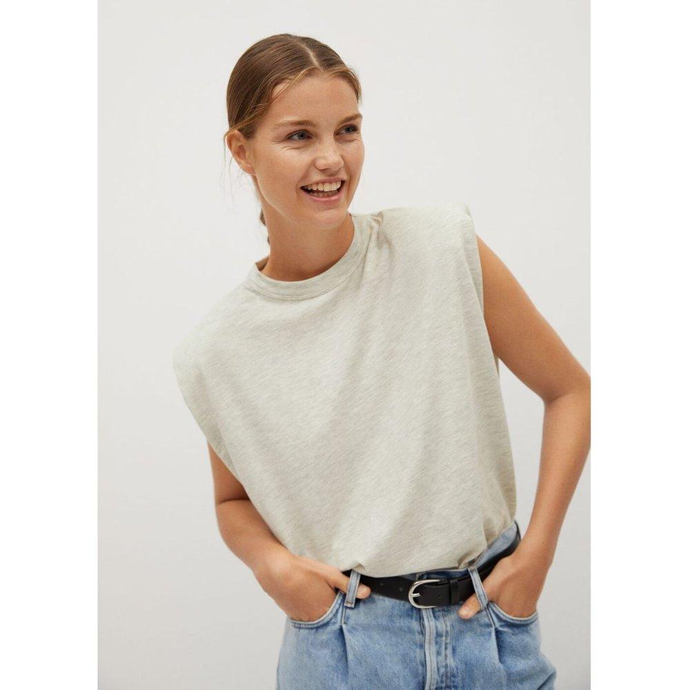 T-shirt épaulettes - Mango - Modalova