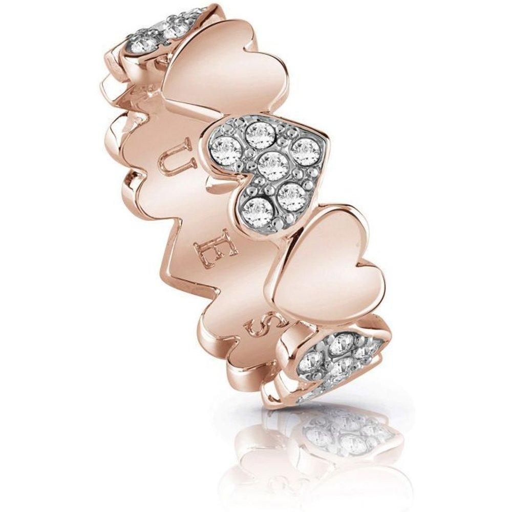Bague C?urs Heart Bouquet - Guess - Modalova