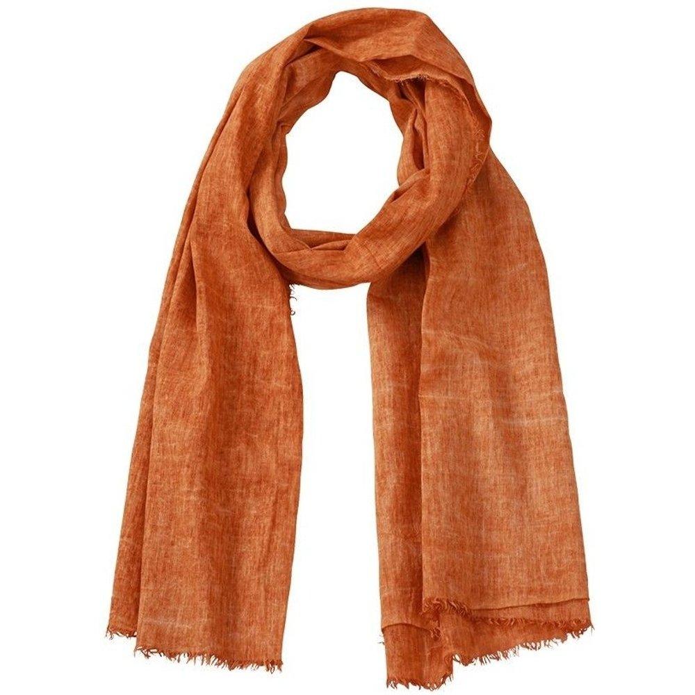Foulard en coton aspect chiffonné - MYRTLE BEACH - Modalova
