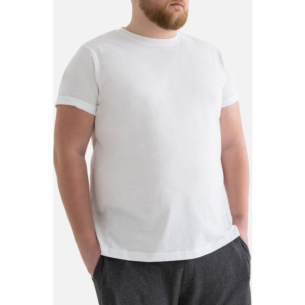 T-shirt grande taille col rond manches courtes - LA REDOUTE COLLECTIONS PLUS - Modalova
