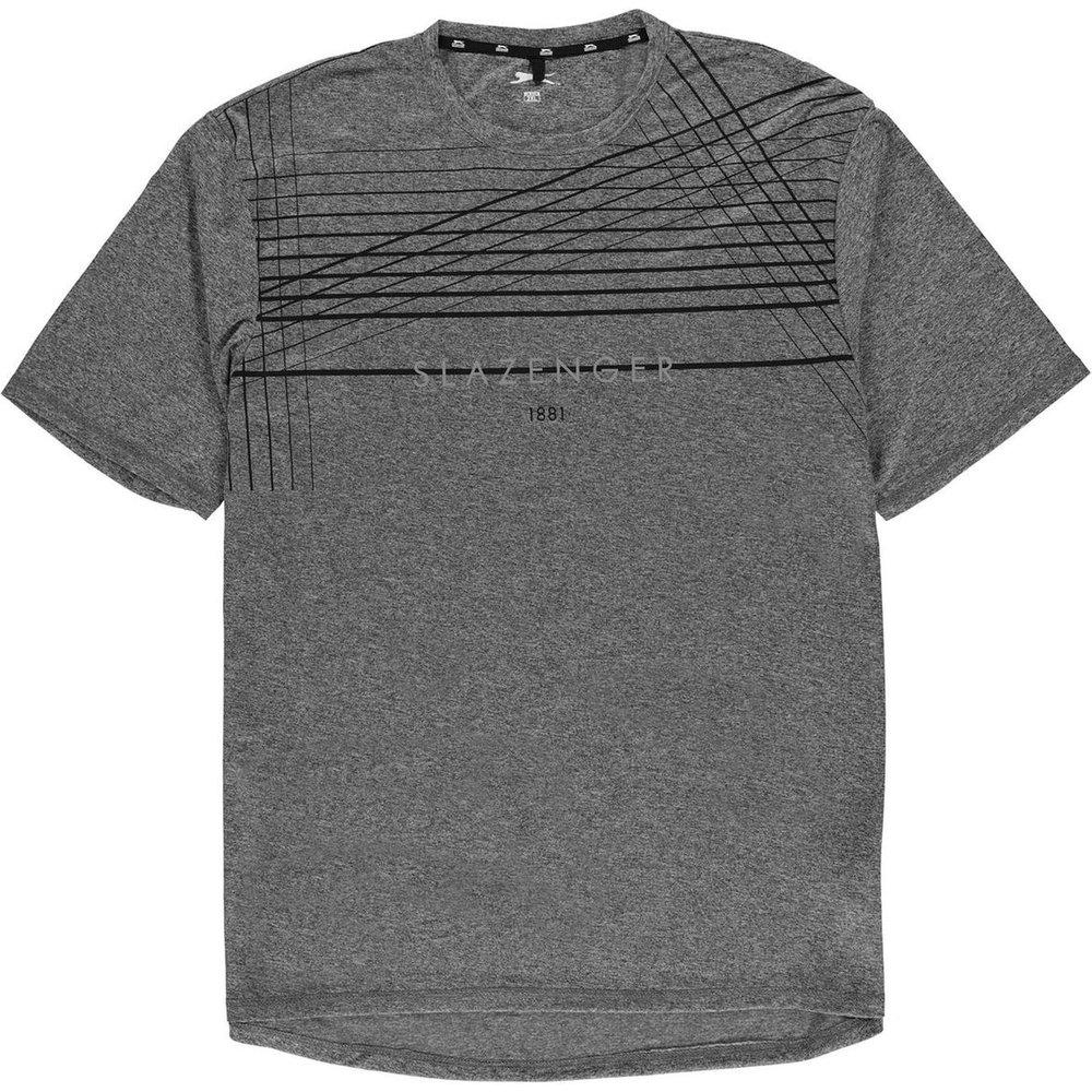 T-shirt col rond manche courte - Slazenger - Modalova