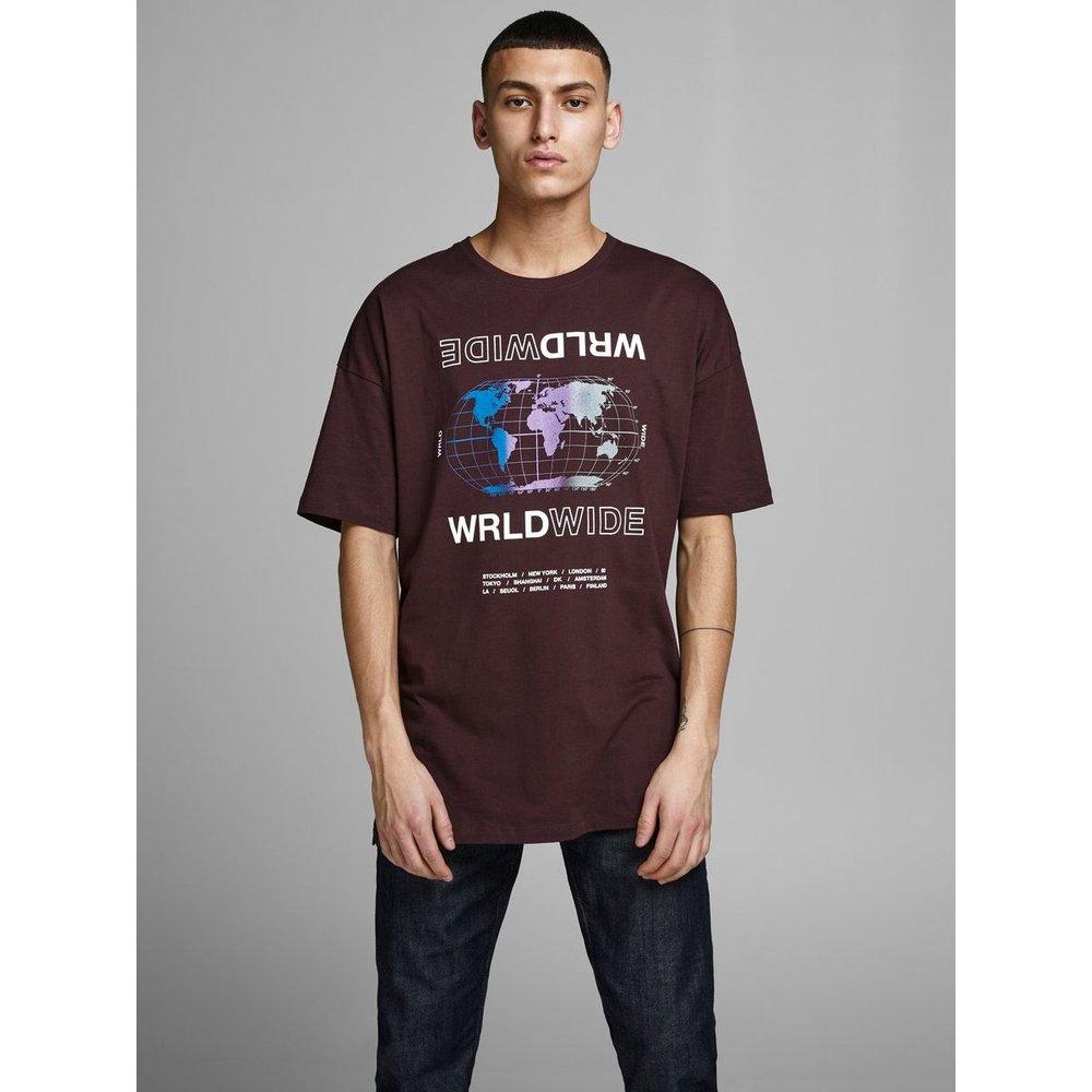 T-Shirt Imprimé devant et dos - jack & jones - Modalova
