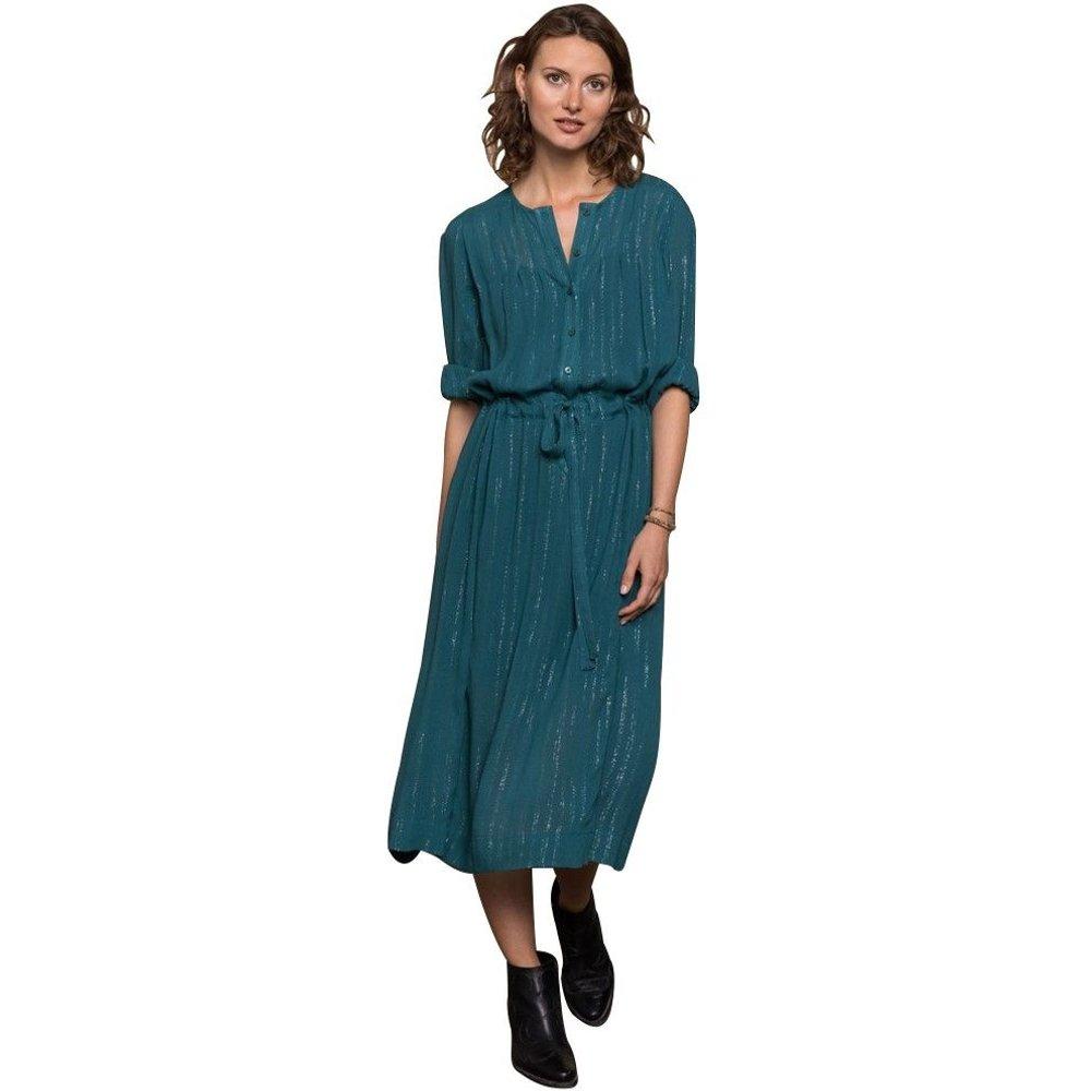 Robe longue verte - CHEMINS BLANCS - Modalova
