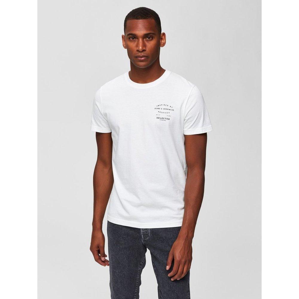 T-Shirt Imprimé  - Selected Homme - Modalova