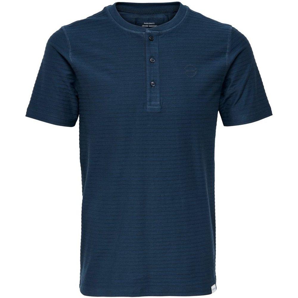 T-Shirt Col tunisien - ONLY ET SONS - Modalova