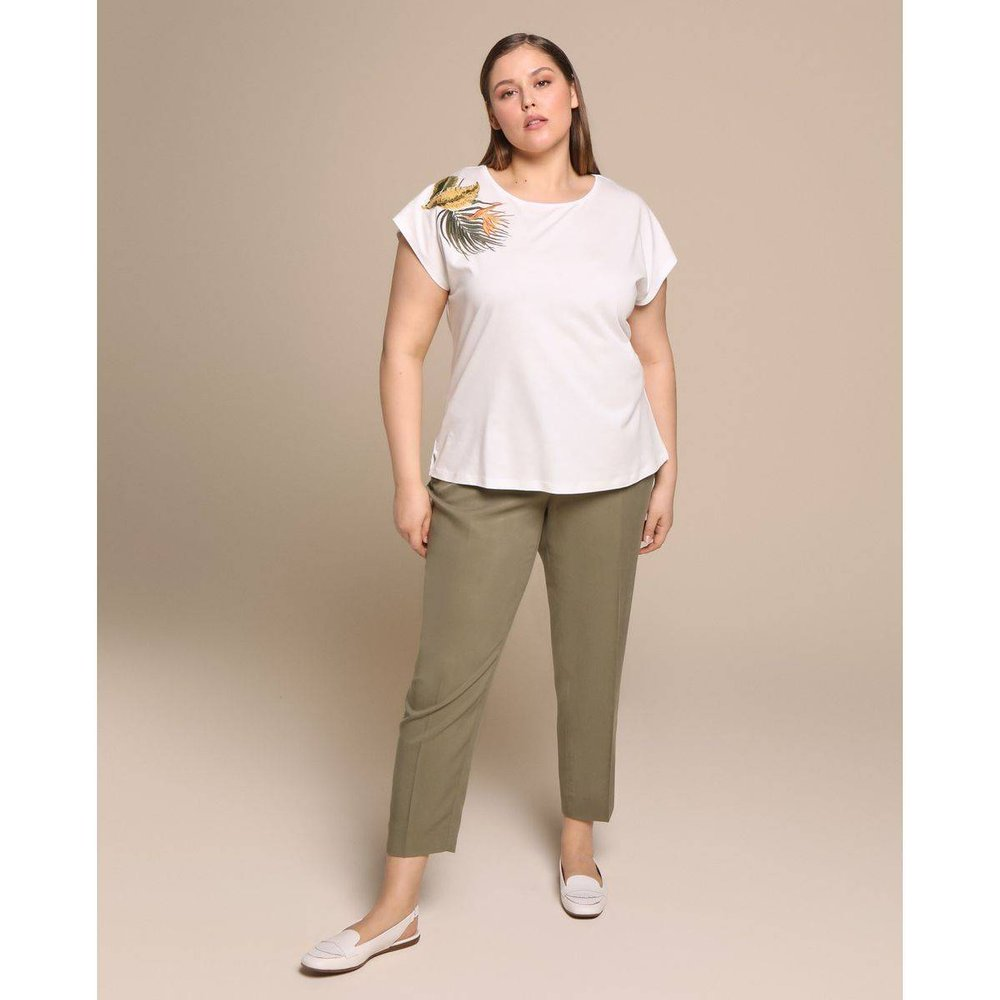 Pantalon fluide - WOMAN PLUS EL CORTE INGLES - Modalova