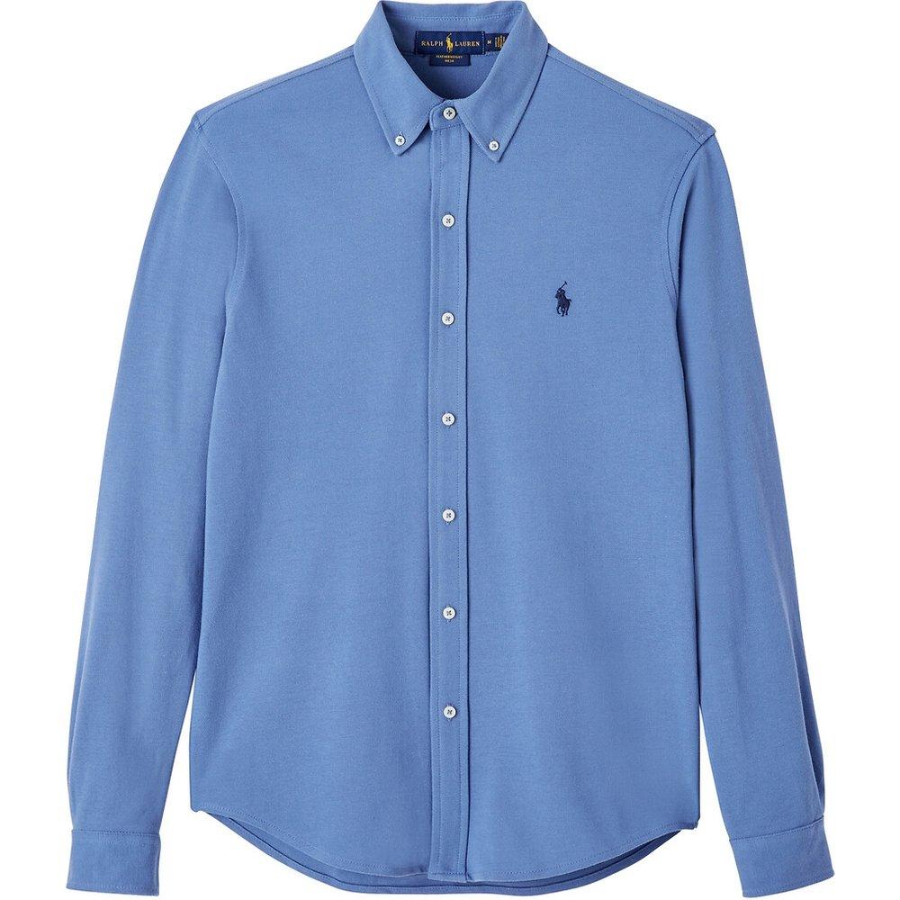Chemise droite en coton piqué - Polo Ralph Lauren - Modalova