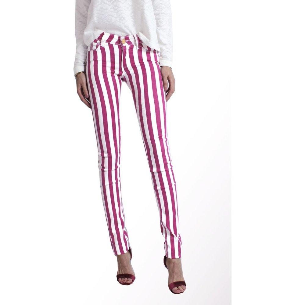 Jeans Slim raye - KEBELLO - Modalova