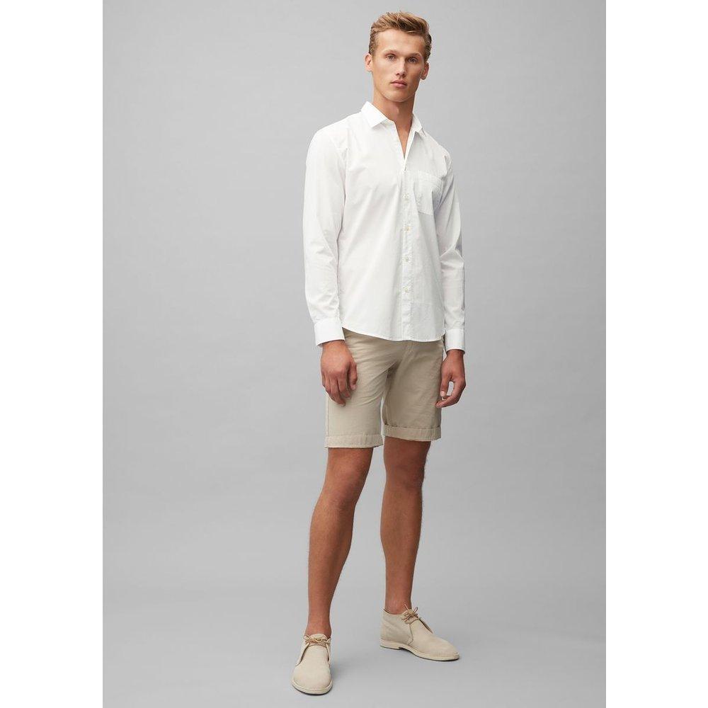 Chemise à manches longues de coupe regular en coton biologique - Marc O'Polo - Modalova