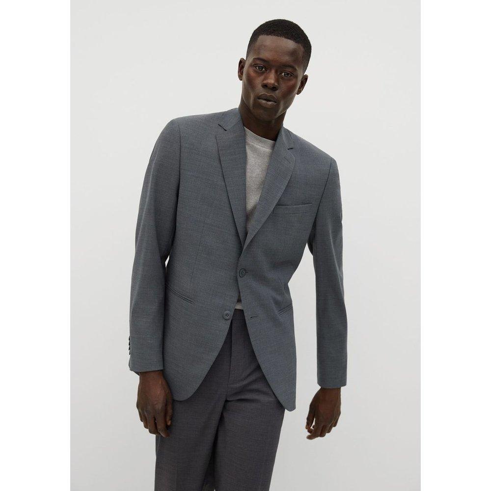 Veste de costume slim fit en laine - mango man - Modalova